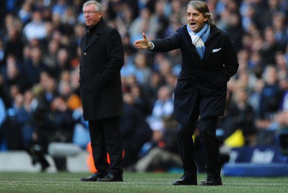 Mancini estaba desesperado y no encontraba la forma de que sus pupilos r...