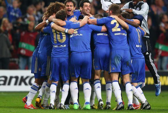 Los 'Blues' levantaban su segunda copa a nivel continental en dos a&ntil...