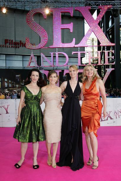 El 'glamour' no sólo era en las pantallas, ya que Sarah Jessica P...