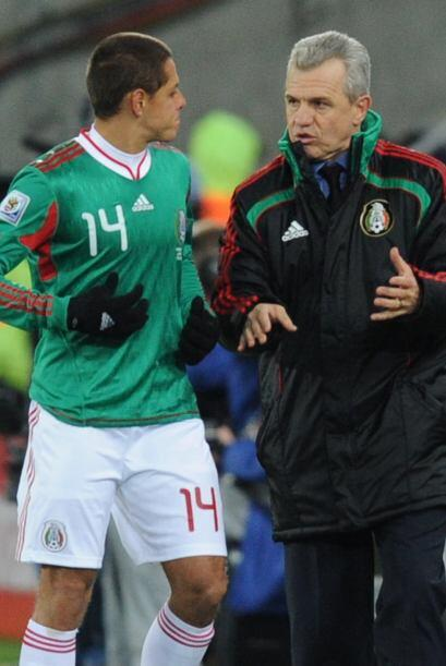 El 'Vasco' Aguirre lo utilizaba algunos minutos...pero Hernández...