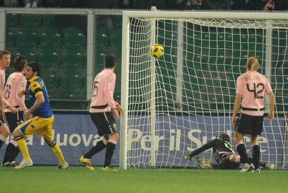 Alessando Lucarelli puso en ventaja al Parma pero su equipo no supo mant...