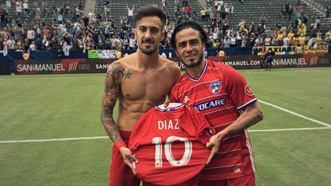 FC Dallas se acordó de Mauro Díaz al ganar el Supporters' Shield.