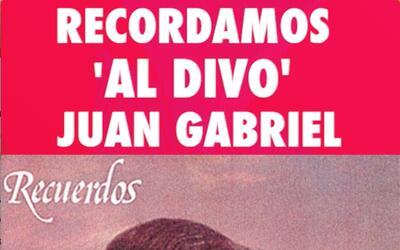 Juan Gabriel en las portadas de sus discos