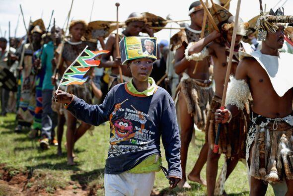 El pueblo sudafricano cierra este domingo un ciclo que comenzó co...