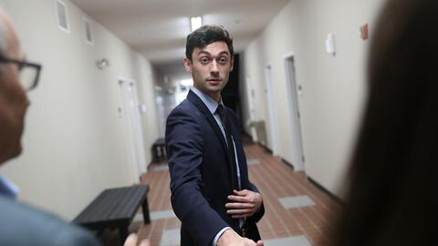 Jon Ossoff, 30, a Democrat who hopes to represent Georgia's sixth distri...
