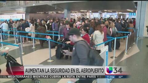 Aeropuerto de los Los Ángeles incrementa medidas de seguridad