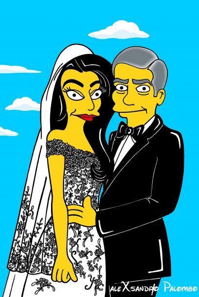 ¡Al estilo de los Simpson!