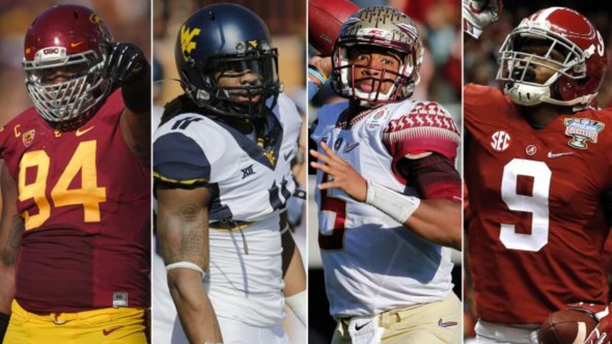 Leonard Williams (USC), Kevin White (West Virginia), Jameis Winston (Flo...