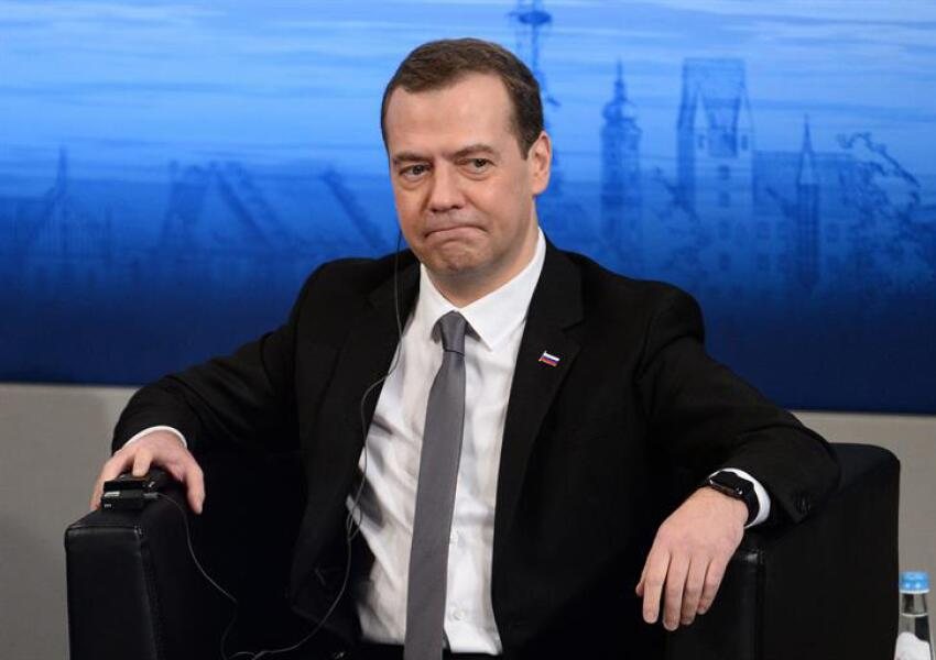 Dmitry Medvedev en Munich.