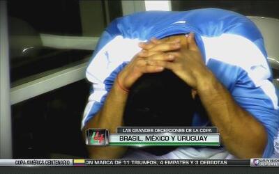 Brasil, México y Uruguay, las grandes decepciones de la Copa América Cen...