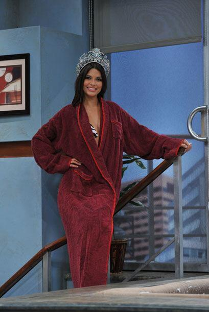 Ana Patricia González es la nueva reina y llegó al 'jacuzz...
