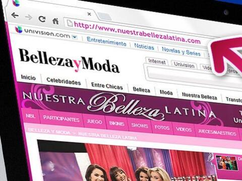 Todos los días visita www.NuestraBellezaLatina.com