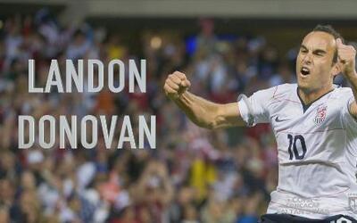 Landon Donovan representa el crecimiento de Estados Unidos en el fútbol