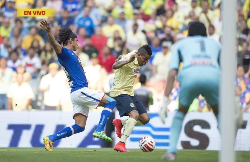 Cruz Azul vs. América Cintillo Apertura 2015