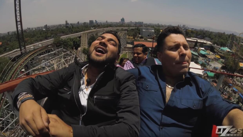 Alan Ramírez y Oswaldo Silva se pusieron al extremo para hablar s...