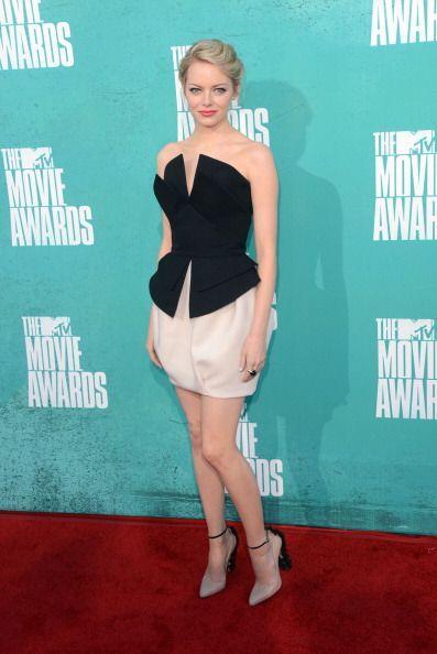 Emma Stone volvió a imponer en 2012 con su exquisito gusto por la...