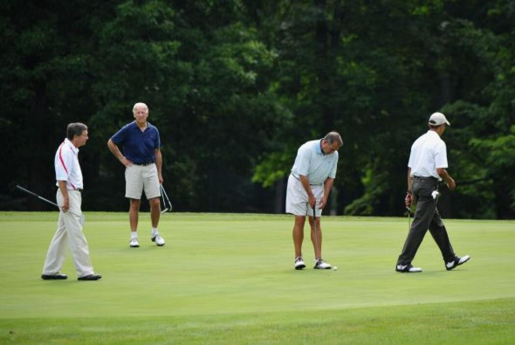 Los colaboradores habían dicho que el tiempo que Obama y Boehner pasaran...