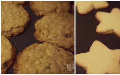 La idea de hacer un concurso de galletas entre las parejas de los candid...