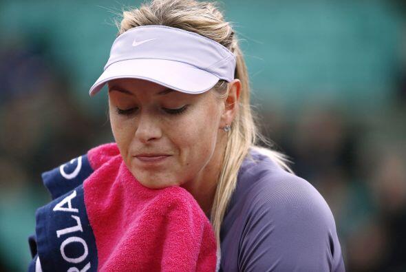 Como el de la rusa María Sharapova ante la canadiense Eugenie Bouchard.