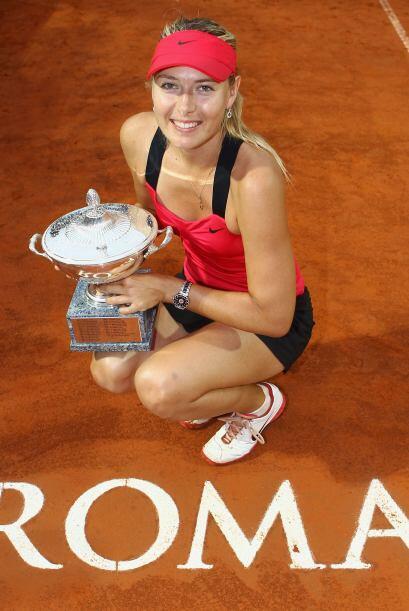Asimismo, la rusa María Sharapova seguramente quiere sacarse una vieja e...