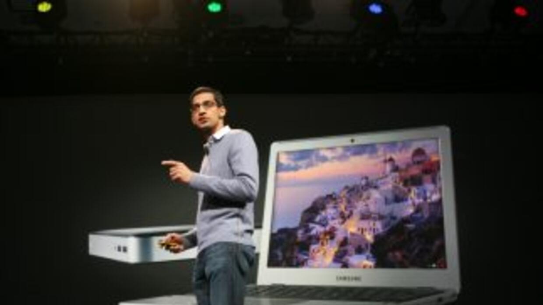 La Chromebook tiene una pantalla de 11.6 pulgadas y puede iniciarse en m...