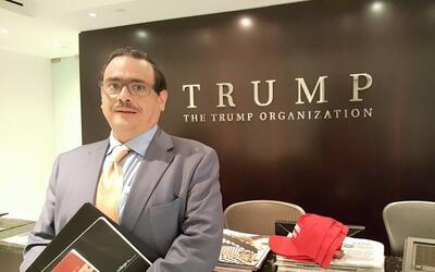 Jacobo Monty en la Torre Trump.