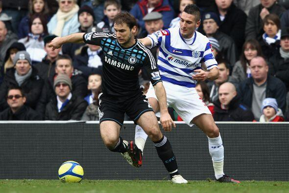 En otro de los partidos jugados, Chelsea superó 1 a 0 al Queens Park.