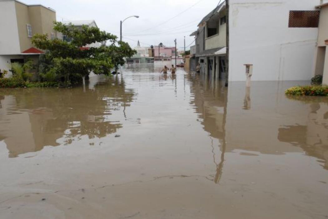 Son más de 100 municipios los afectados por los daños causados por Karl,...
