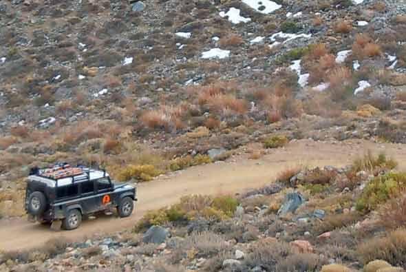Esta camioneta se ha utilizado para expediciones alrededor del mundo.