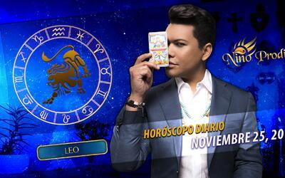 Niño Prodigio – Leo 30 de Noviembre, 2016