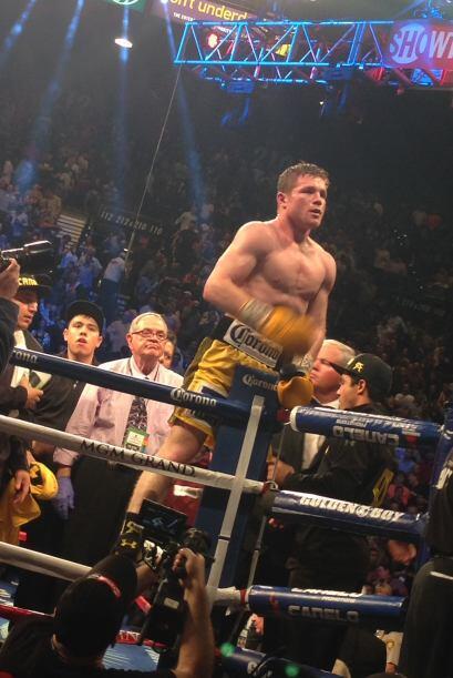 El 'Canelo' se coronó como el campeón.