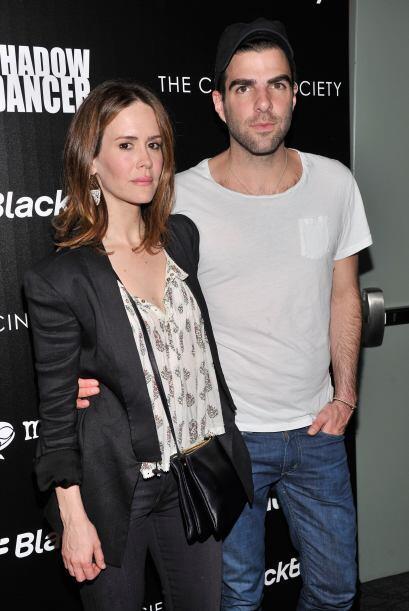 """Sarah Paulson y Zachary Quinto Compartieron crédito en el programa """"Amer..."""