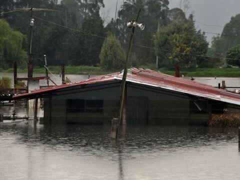 Colombia está sufriendo de un fuerte invierno desde finales de 20...