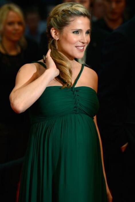 La belleza de la actriz Elsa Pataky sin duda se acentuó durante su embar...