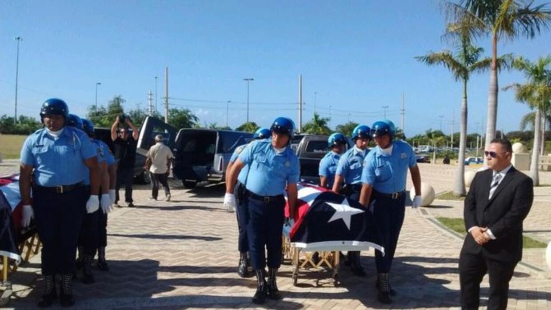 Funeral de tres policías asesinados en Ponce, Puerto Rico