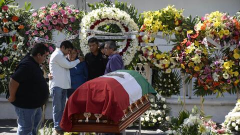 Funeral de la alcaldesa Gisela Mota