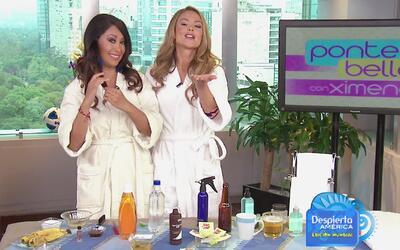 Ponte Bella con Ximena: Ondas playeras para tu cabello con productos cas...