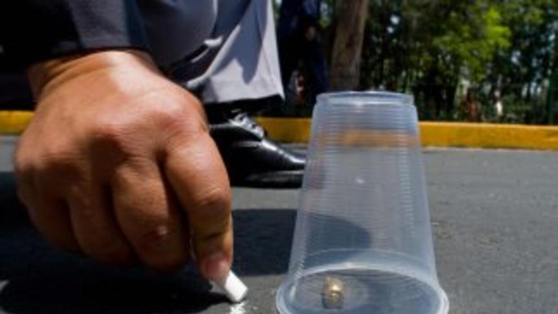 Peritos recolectaron casquillos percutivos que corresponden a armas cali...