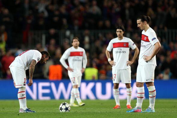 El esfuerzo del PSG era más que aplaudible, pero no le estaba bas...