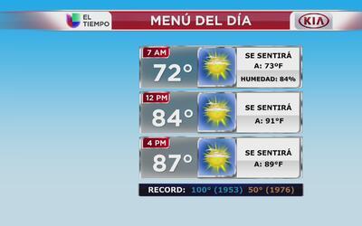 Nueva York tendrá un miércoles despejado y caluroso
