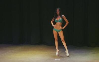 """La hermosa Puertorriqueña """"Diane Ferrer """" audiciona para Nuestra Belleza..."""