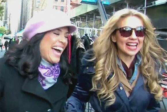 Thalía llevó a Karla a conocer un mercado en Nueva York donde dijo encue...