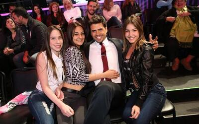 Pedro Moreno complació a sus fans entre comerciales