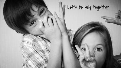 Let's be silly together
