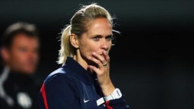 Shelley Kerr dirigió al Arsenal femenil donde recientemente consiguiño e...