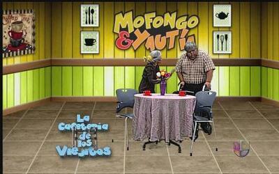 Mofongo está bien celoso del viejo fresco