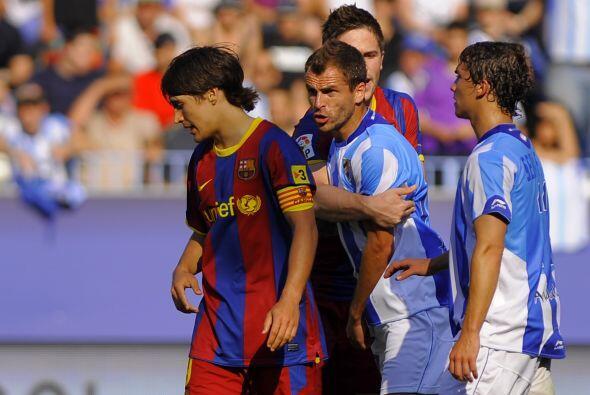 Los jugadores del Málaga se enojaron con el delantero 'cul&eacute...
