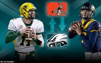 Eagles Browns Draft