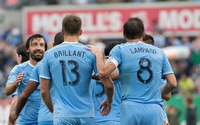 New York City FC goleó a Colorado Rapids en una tarde brillante de Lampard.