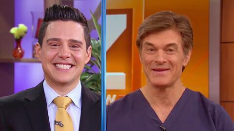 Dr. Oz felicitó a Chabán por ser el nuevo presentador de Despierta América